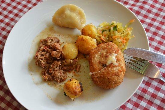 Glogow, Polen: lunch