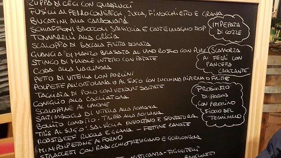 La Lavagnetta Men Picture Of Osteria Bonelli Rome TripAdvisor