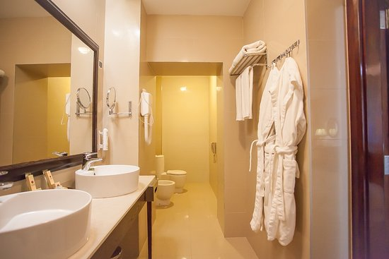 Hotel Marton Palace: Bathroom in Business Twin