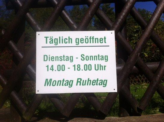 Seebad Bansin, Tyskland: Öffnungszeiten