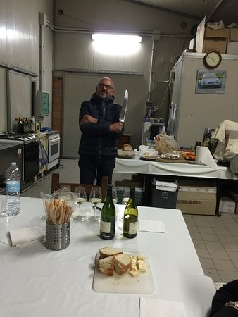 Claudio Mariotto: Our local friend, self-serving cheese and salami