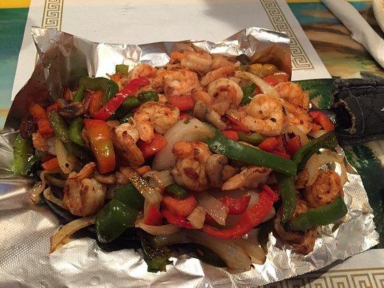 Chillicothe, OH: Shrimp fajitas for 2!