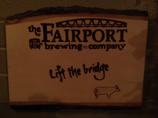 Fairport Brewing Company: Lift Bridge