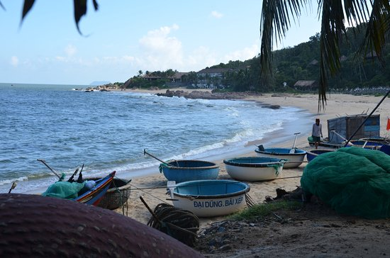Quy Nhon, Vietnam: The view from Haven, right on the beach