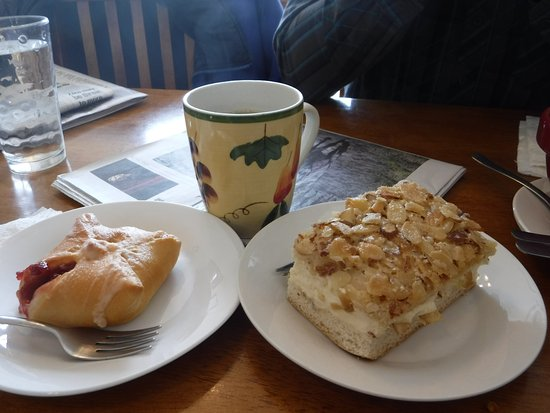 Victor, Κολοράντο: Delicious pastries and coffee!