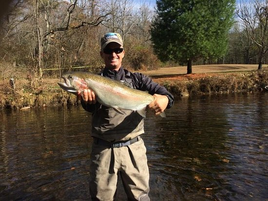 Fly Fishing Ellijay with Reel 'Em In Guide Service.  Give Us a Call, We'll Hook You Up!