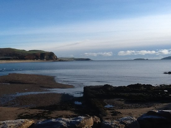 Campbeltown, UK: View from cottage