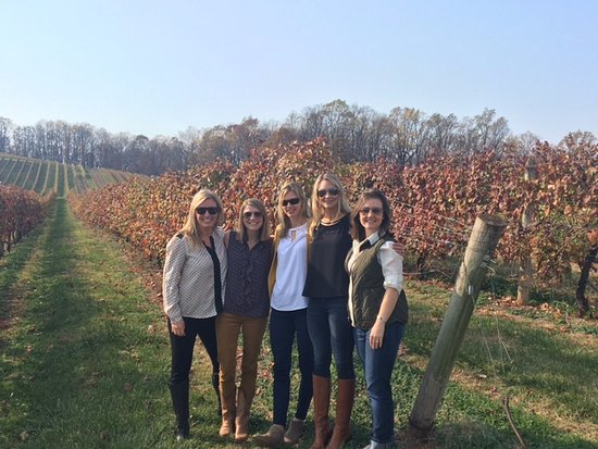 Orange, VA: Girls weekend wine tour