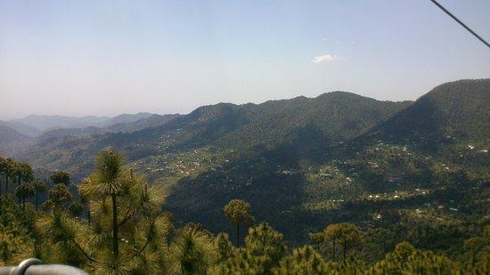 New Murree, Pakistan: View from Patriata Chairlift