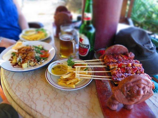 Puri Pandan Restaurant: Sate Ikan Laute