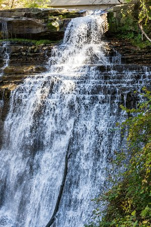Sagamore Hills, Οχάιο: Brandywine Falls Labor Day 2016