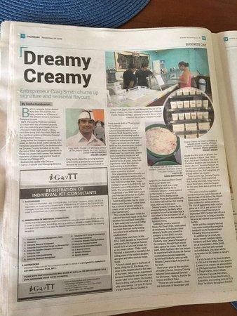 San Fernando, Trinidad: The Dreamy Creamy Ice Cream Company