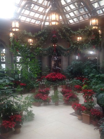 biltmore estate visiting baltimore in november gets me in the mood to start decorating for