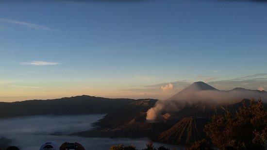 Tengger Caldera, Indonesia: Bromo Mt. view from Penanjakan Mt.