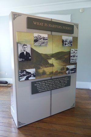 Visitor Centre - exhibition on the history of Harpers Ferry