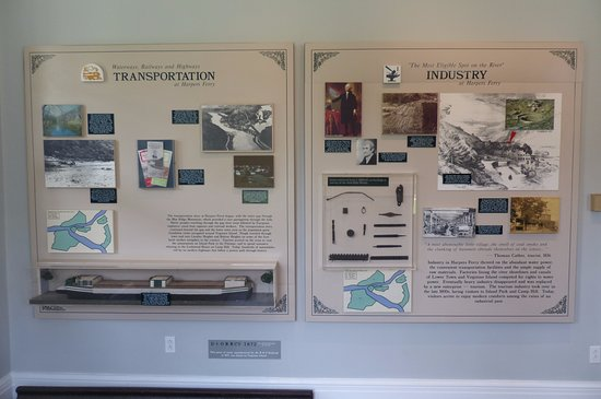 Visitor Centre - exhibition on the history of Harpers Ferry (4)