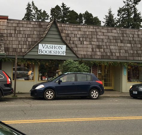 Vashon Bookstore from the street