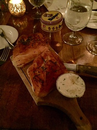 Big Indian, NY: focaccia and herb butter