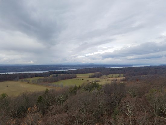 Rhinebeck, NY: View North from the Fire Tower