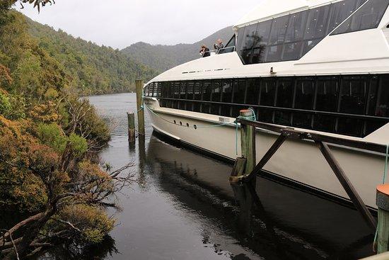 Strahan, Australia: The Lady Jane on the Gordon River