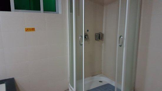 Γουάνινγκ, Κίνα: shower cubicle