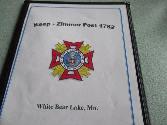 White Bear Lake, MN: Menu