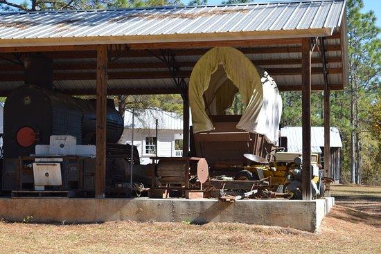 Blountstown, Floride : Rust wagon....hahaha