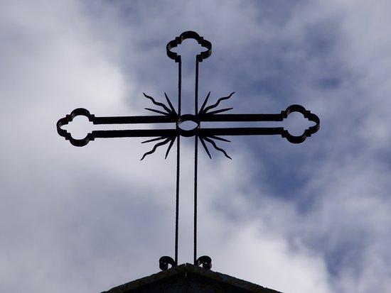 San Quirico dOrcia, Italia: Chapel detail