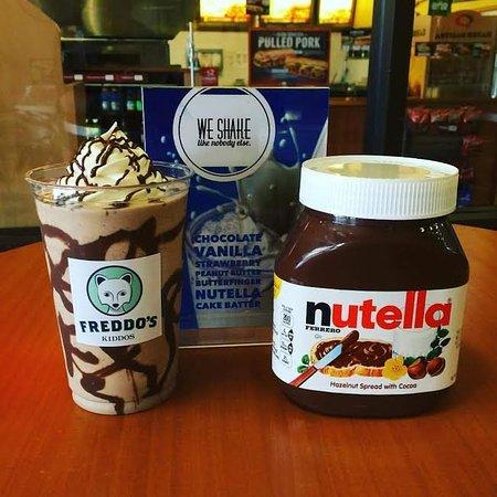 Russellville, AR: Nutella Shake