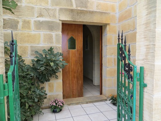 Xaghra, Malta: entrance