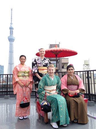 Rental Kimono Sakura