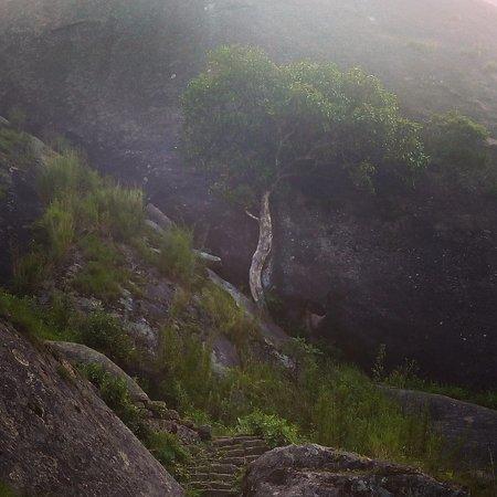 Nongstoin, India: Kyllang Rock