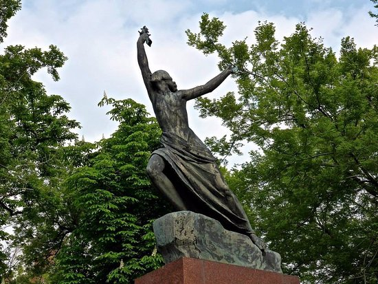 Victory - a monument of liberation by the Red Army