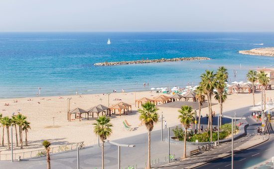 Hotel Prima Tel-Aviv: Across the road from the beach with sea view rooms!
