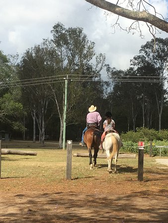 Traveston, Australia: Horse riding
