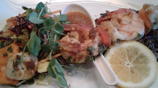 Phil's Place: Scallop skewers
