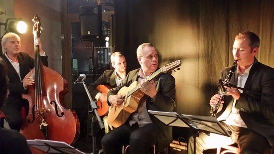 Saint-Martin-d'Heres, ฝรั่งเศส: Quartet Laurent Courtois à l' Atelier 44