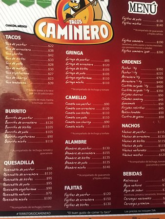 Caminero Tacos Cancún : photo4.jpg