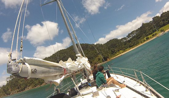 Russell, New Zealand: A sheltered island cove for a delicious lunch