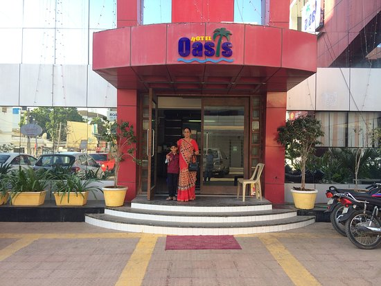Hotel Oasis: outdoor of hotel