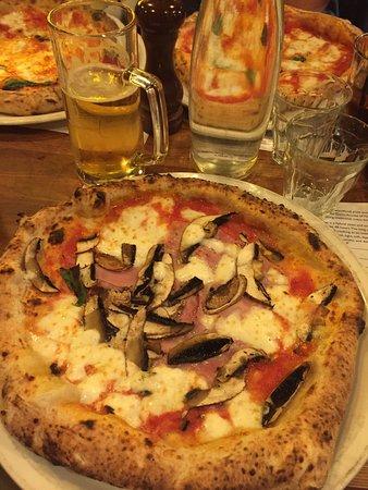 Best Pizza In Uk Picture Of Paesano Glasgow Tripadvisor