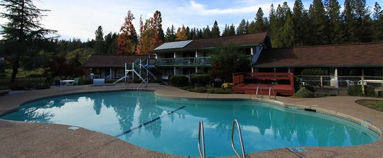Pioneer Inn & Suites - Surrounded by a forest of trees and the big sky that spans over Pioneer C