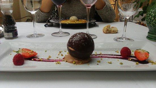 Margaux, Frankrike: barre tout chocolat