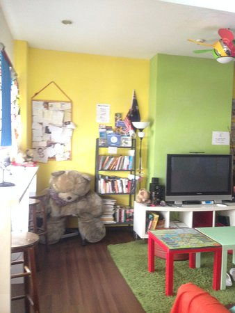 Beary Best! by a Beary Good Hostel!: the common area
