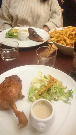 Au Coin de la Rue : Menu tout canard, et frites a volonté !