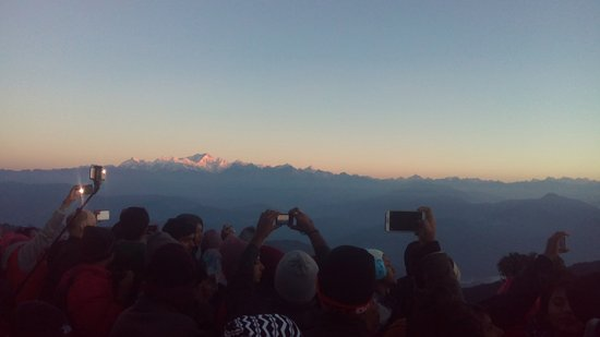 View of Kanchenjunga from Tiger Hill (Photo - 1).