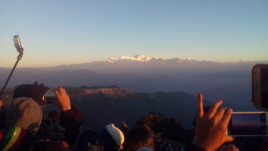 View of Kanchenjunga from Tiger Hill (Photo - 2).