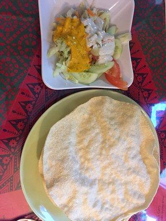Lund, Zweden: Restaurant Spice and Curry