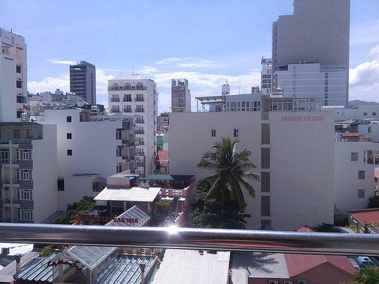 Hoa Lam: Вид с 6 этажа, номер де люкс