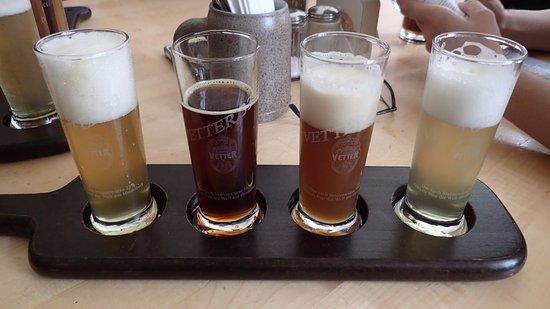 Vetter's Alt Heidelberger Brauhaus: Beer samples